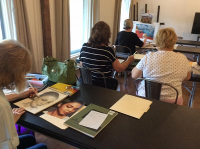 Tuesday Drawing Class @ Splatter Art Studio | Springfield | Missouri | United States
