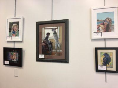 Student Exhibit @ Schweitzer Brentwood Library